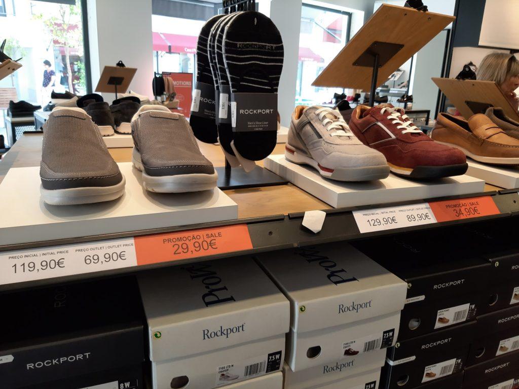 Цены в аутлете Mar Shopping
