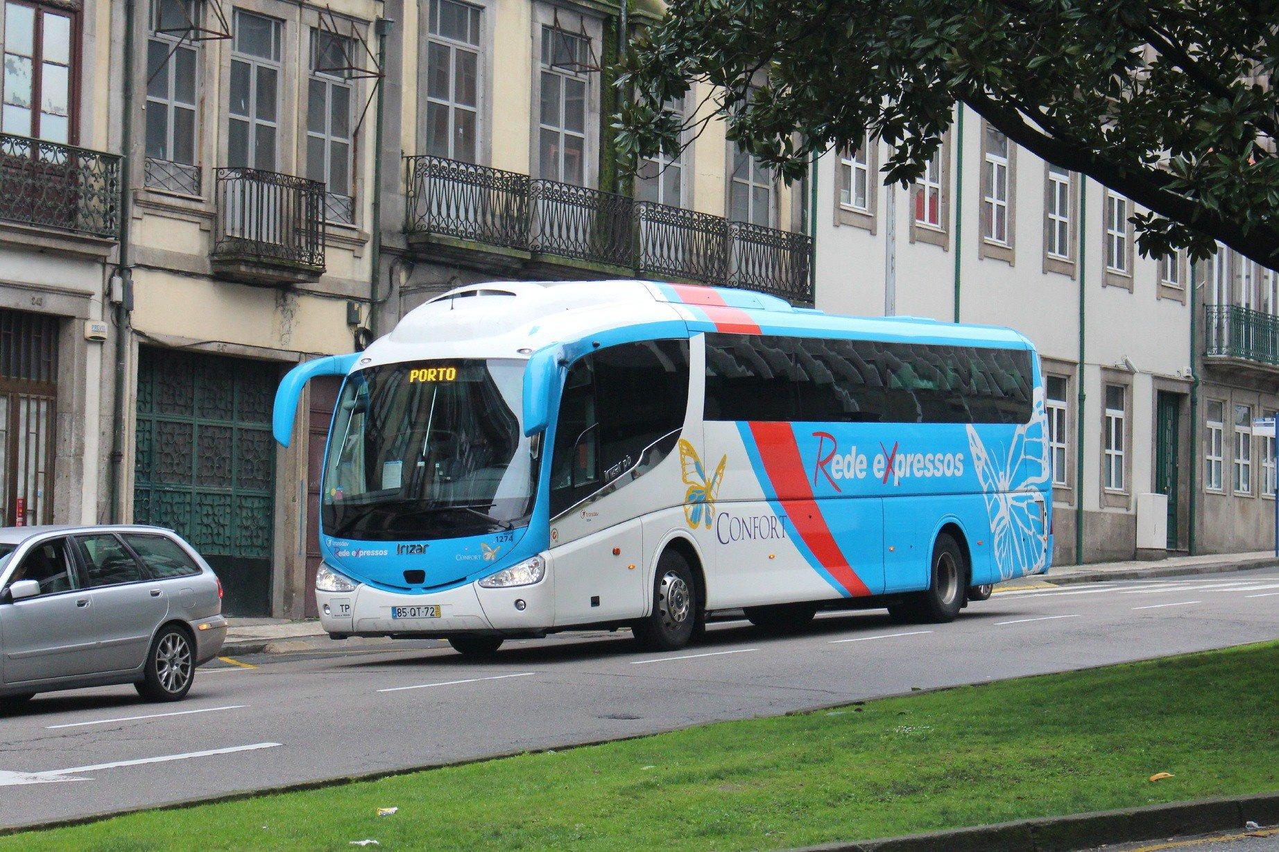 автобус лиссабон-порту