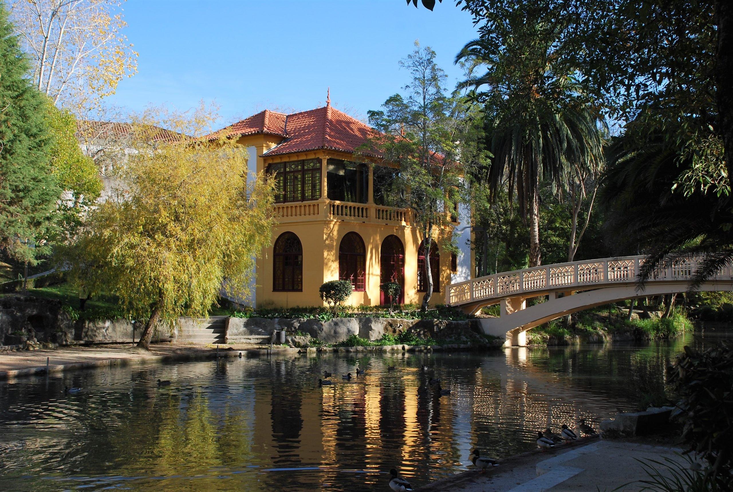 Парк педро в Авейру
