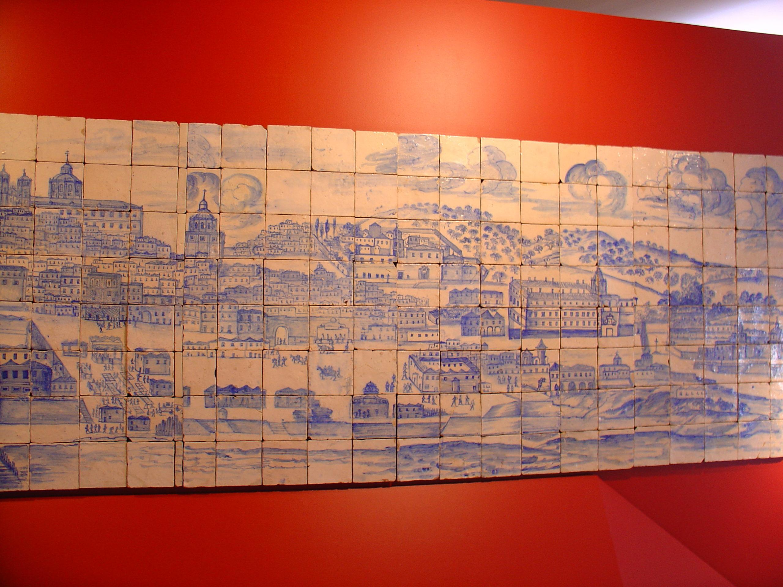 изображение лиссабона в азулежу