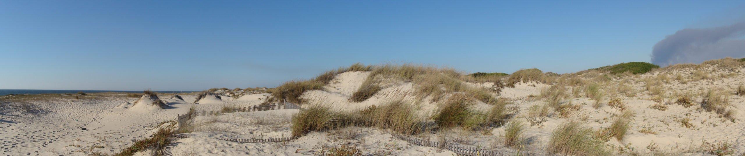 Песчаные дюны португалия
