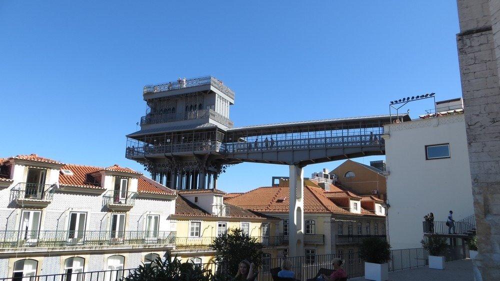 лифт в лиссабоне санта жушта
