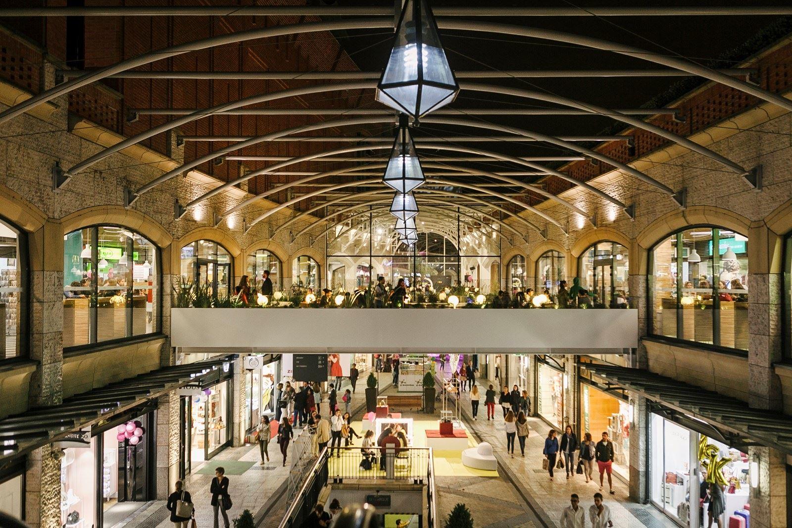 Торговый центр в Авейру, Португалия