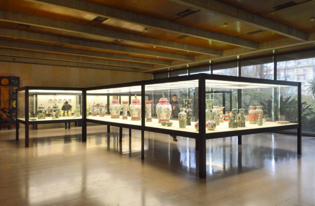 Восточная экспозиция музея