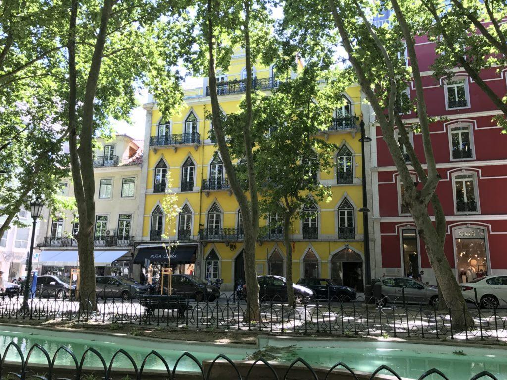 Из Авенида да Либердаде можно пешком дойти до исторического центра