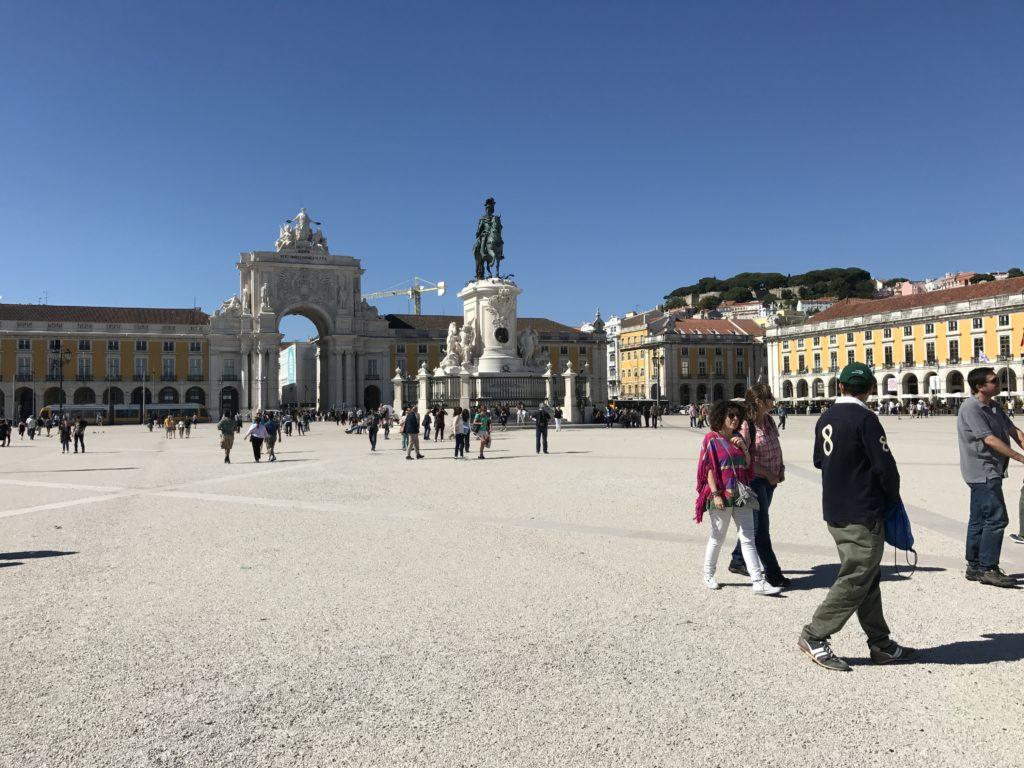 площадь коммерции лиссабон