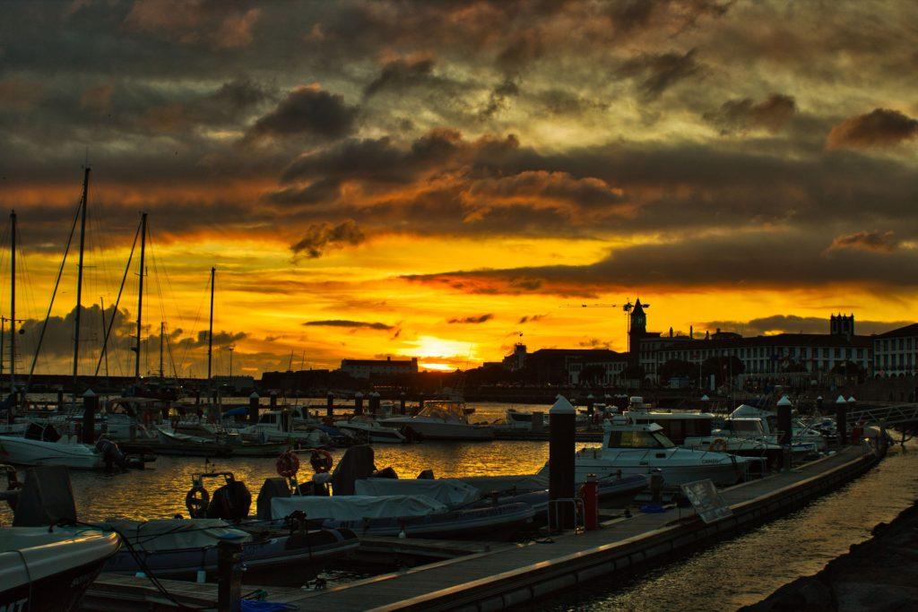 Набережная Ponta Delgada