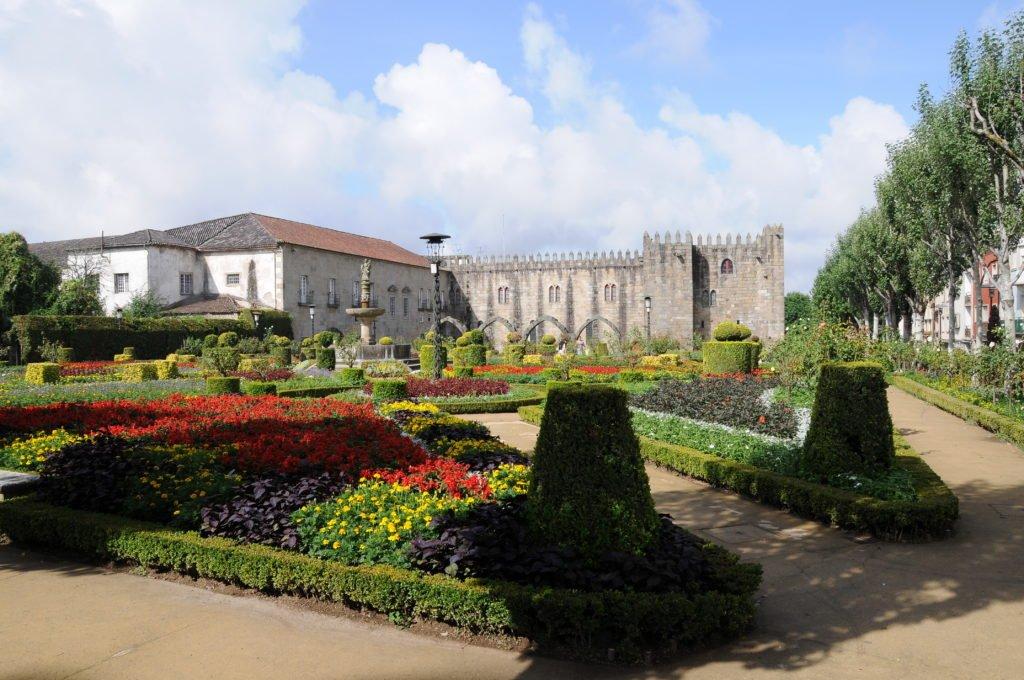 Сады Санта Барбары в Браге