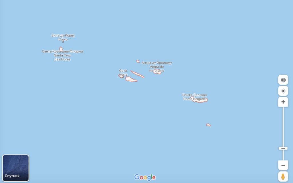 Азоры – архипелаг из 9 островов
