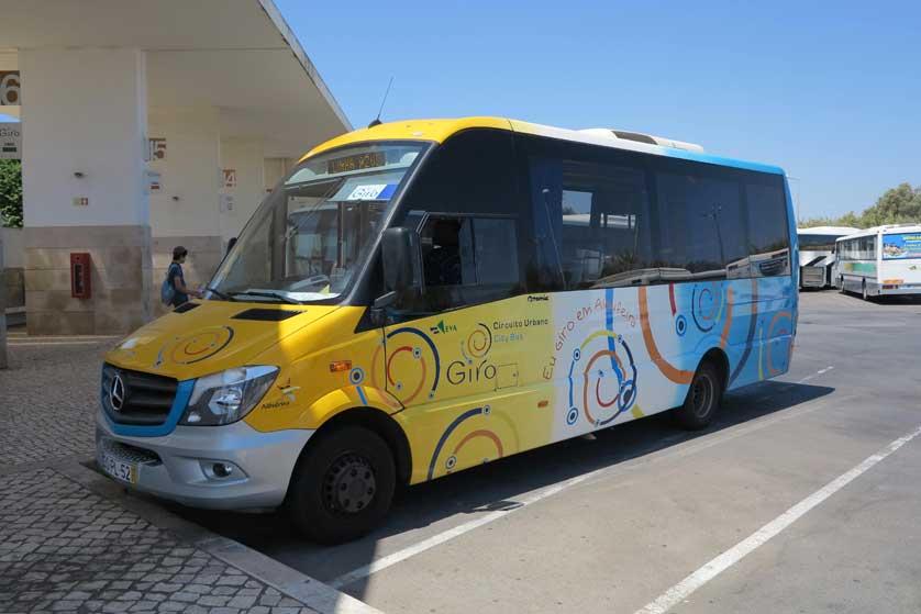 Албуфейре и пять автобусных маршрутов