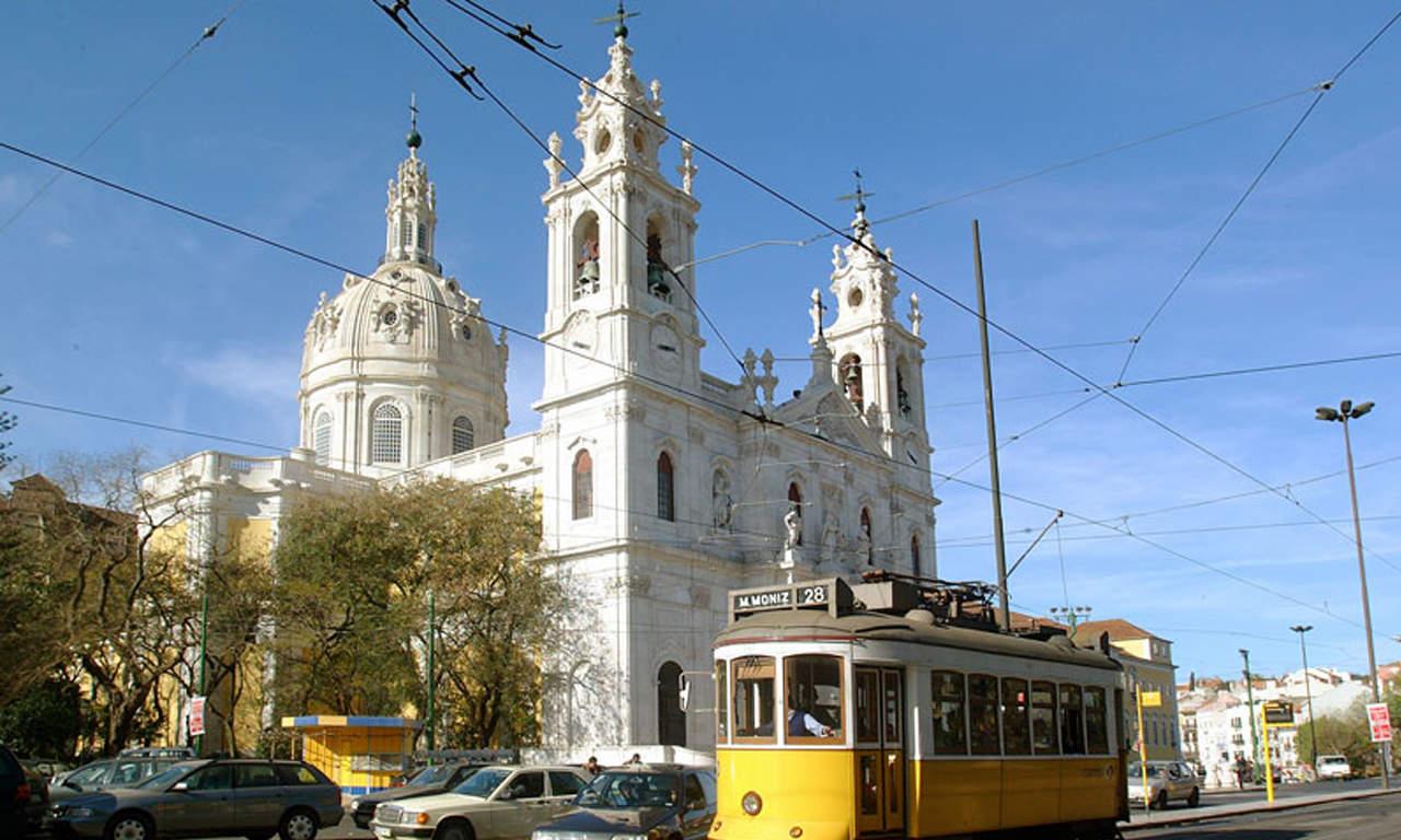 остановка возле базилики эштрела