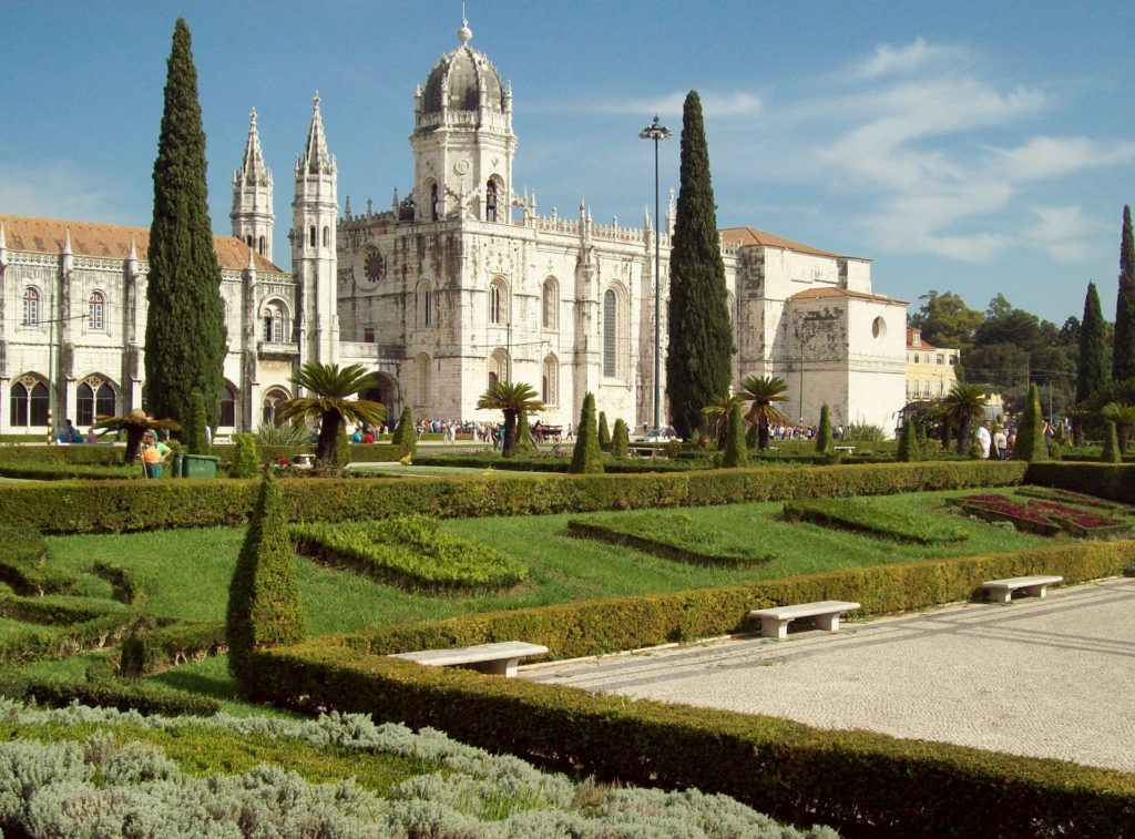 беленский дворец в столице португалии