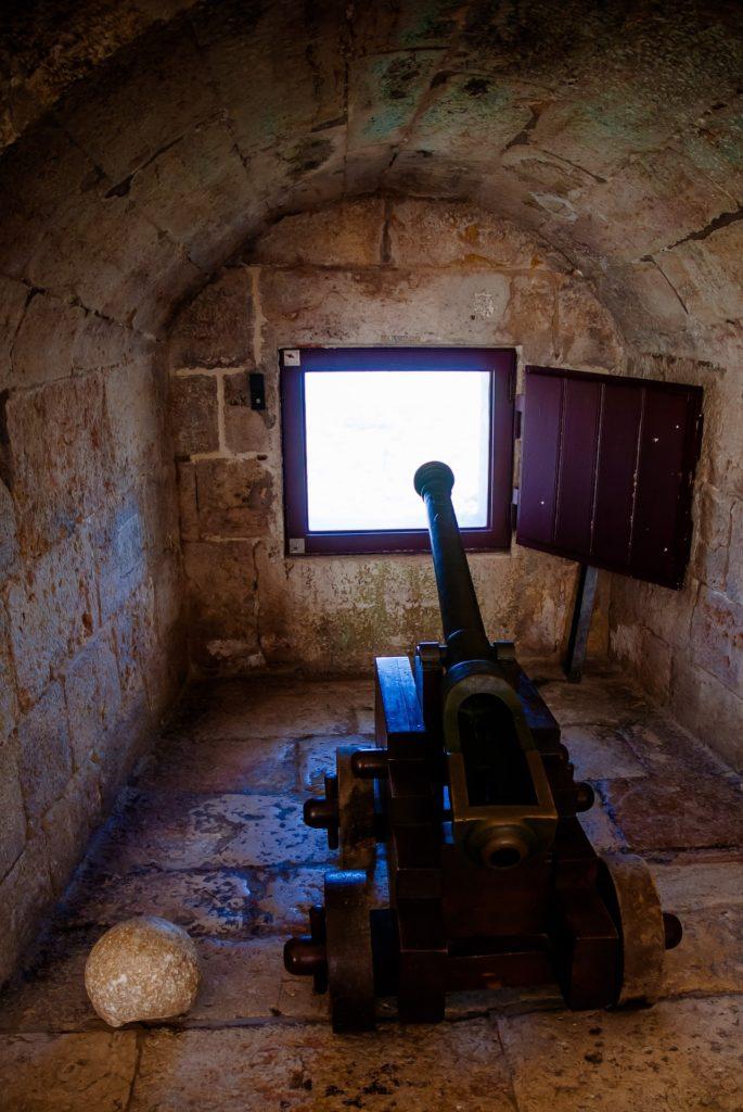 Пушки в башне