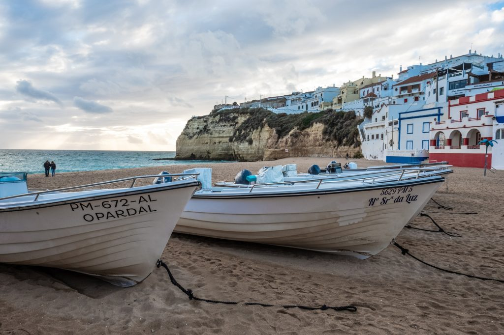 Зима в Португалии,
