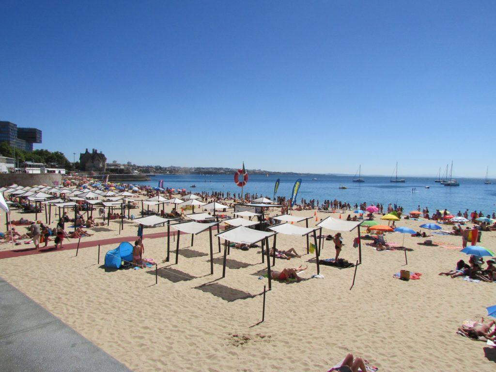 Пляж Лиссабона в Кашкайше