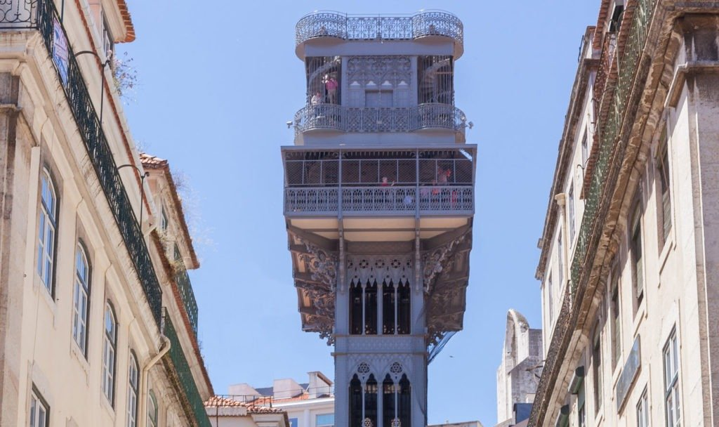 лифт санта жушта лиссабон