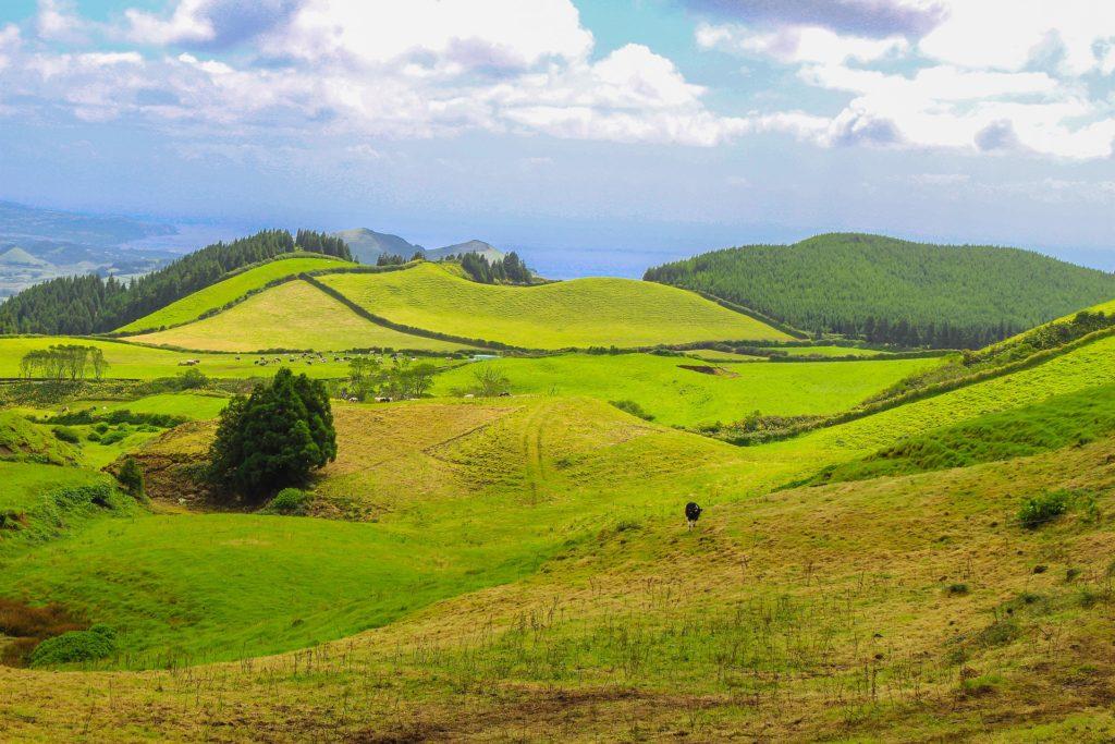 Сан-Мигел на востоке Азор