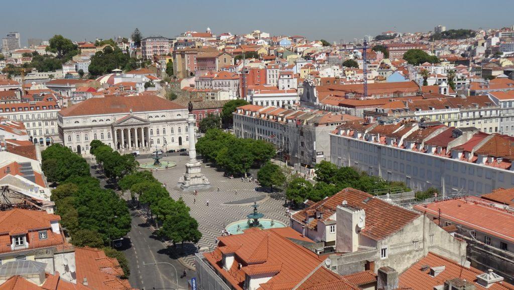 Площадь маркиза де Помбала и Авенида