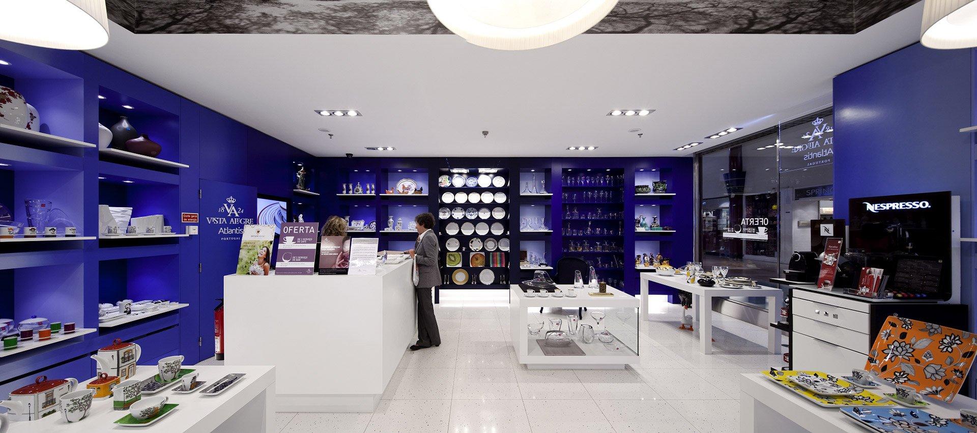 Магазин с керамикой Португалия