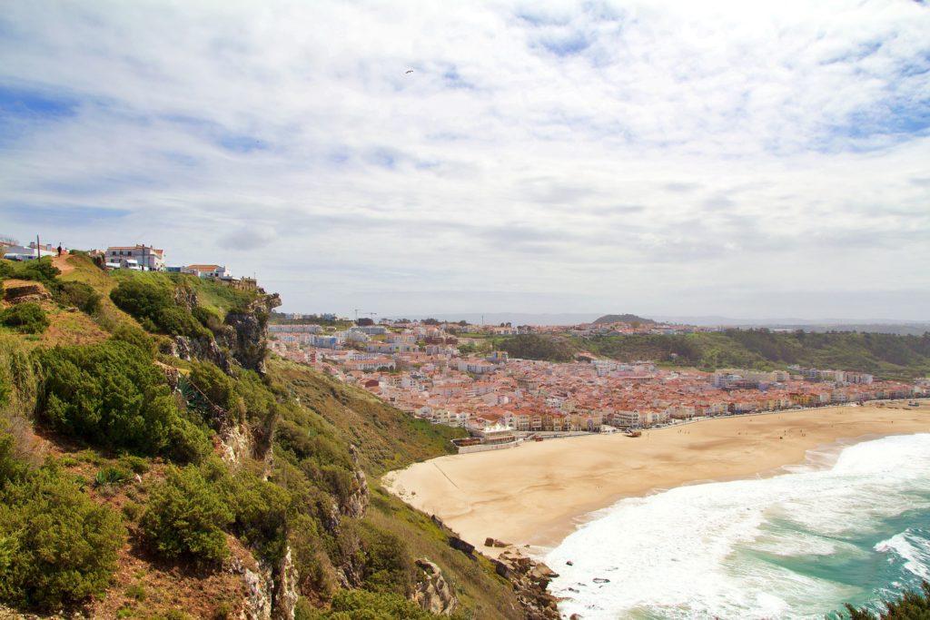 город назаре португалия