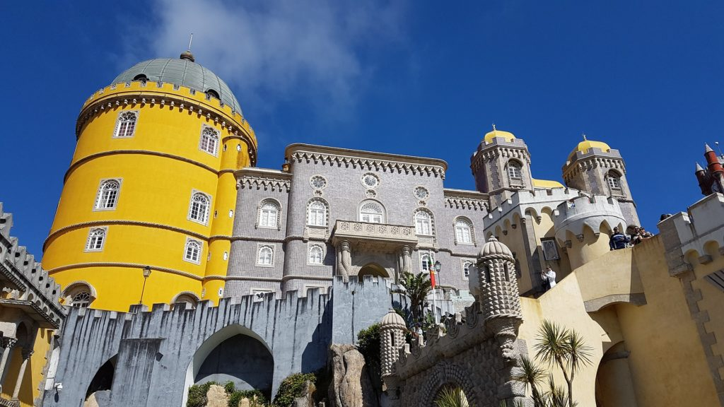 Здание самого дворца