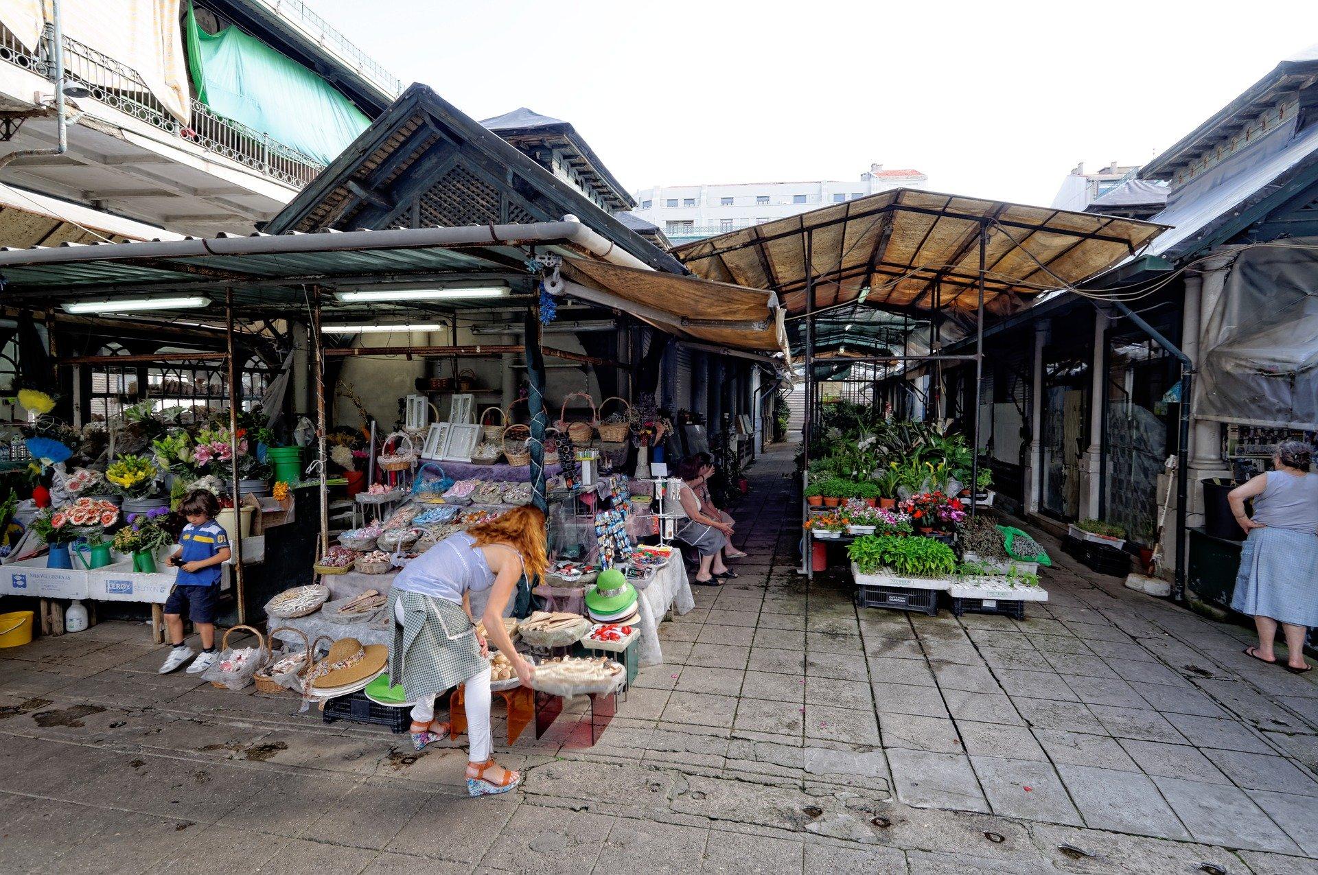 Рынок в Порту