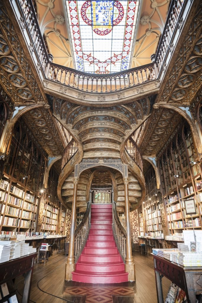 Книжный в Порту