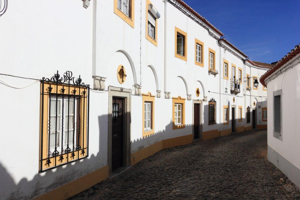 Эвора, старый город
