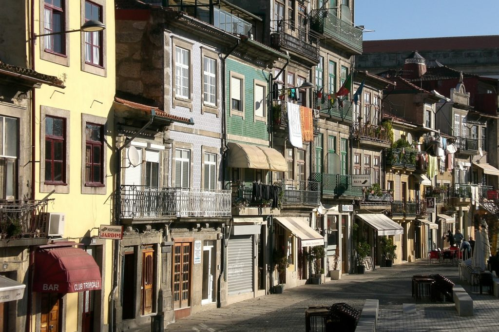 Домики на севере Португалии