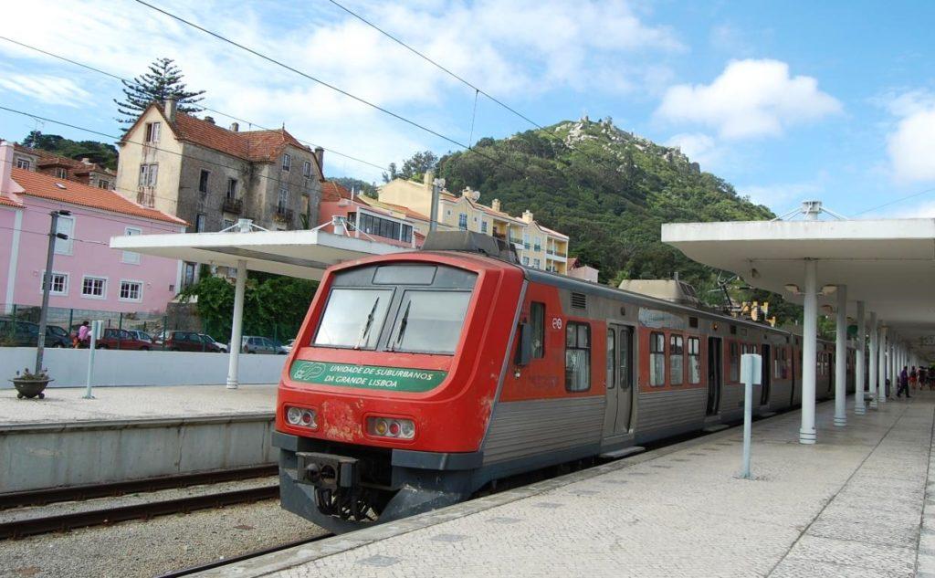 поезд лиссабон синтра