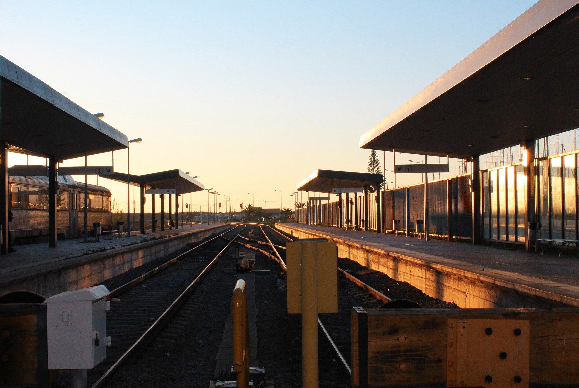 Железнодорожный вокзал Лагуш