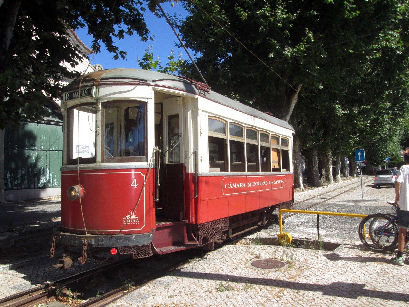 Трамвай по Синтре