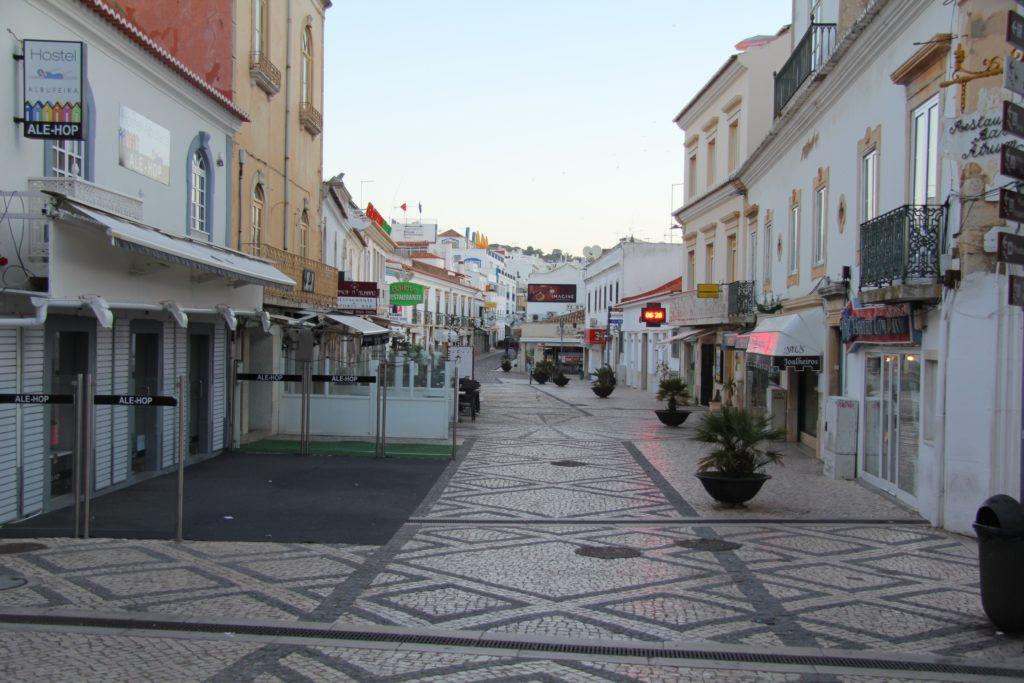 Старый город Албуфейры