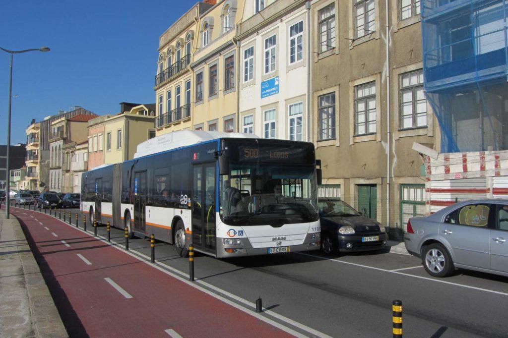 Автобусы в Порто