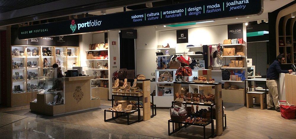 Магазины в порту мадейры
