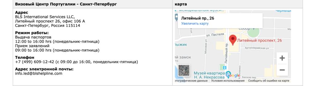 В санкт-Петербурге адрес