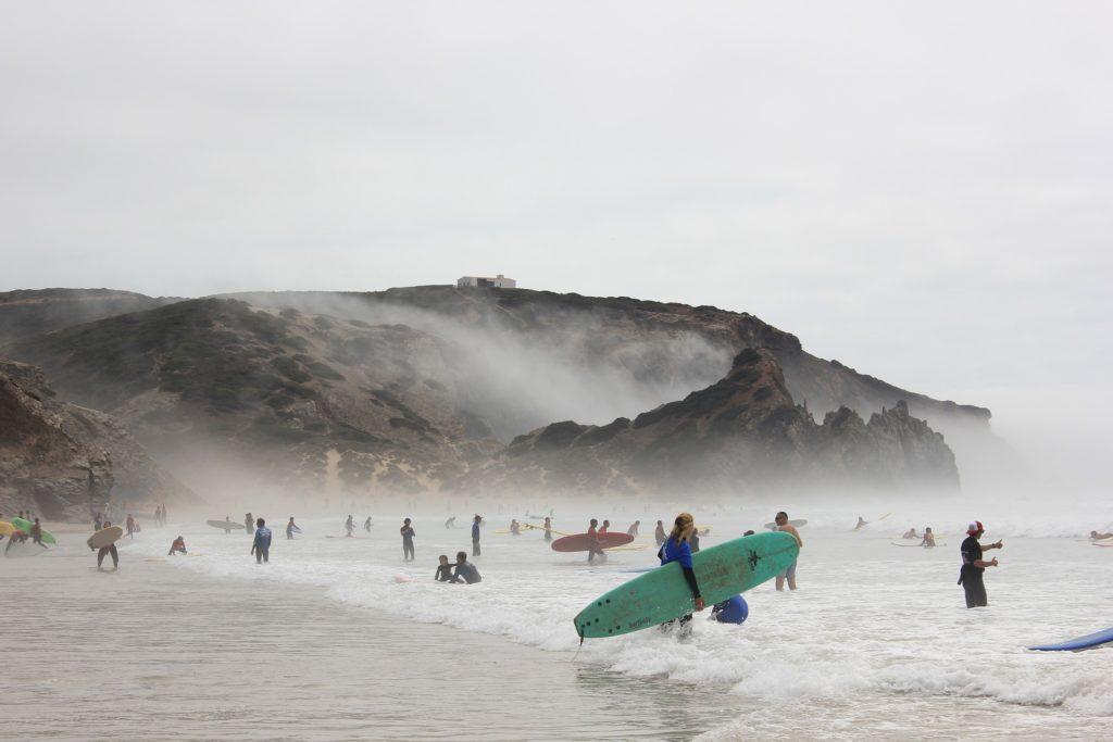 Серфинг зимой