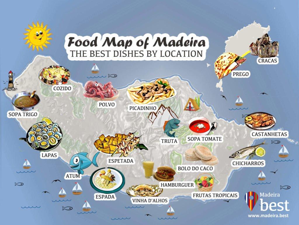блюда на Мадейре