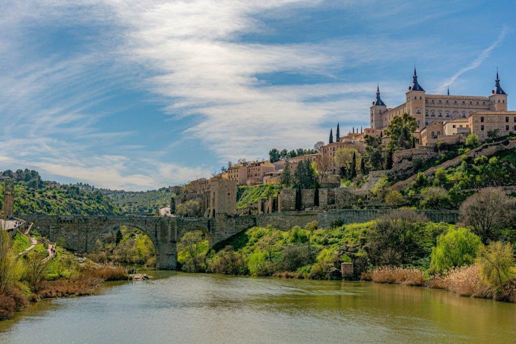 Река Тахо на территории Испании