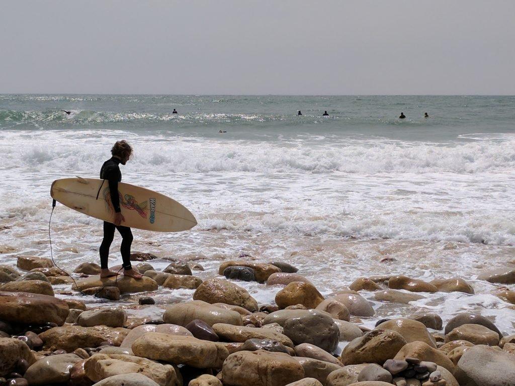 Ученик серфинг школы