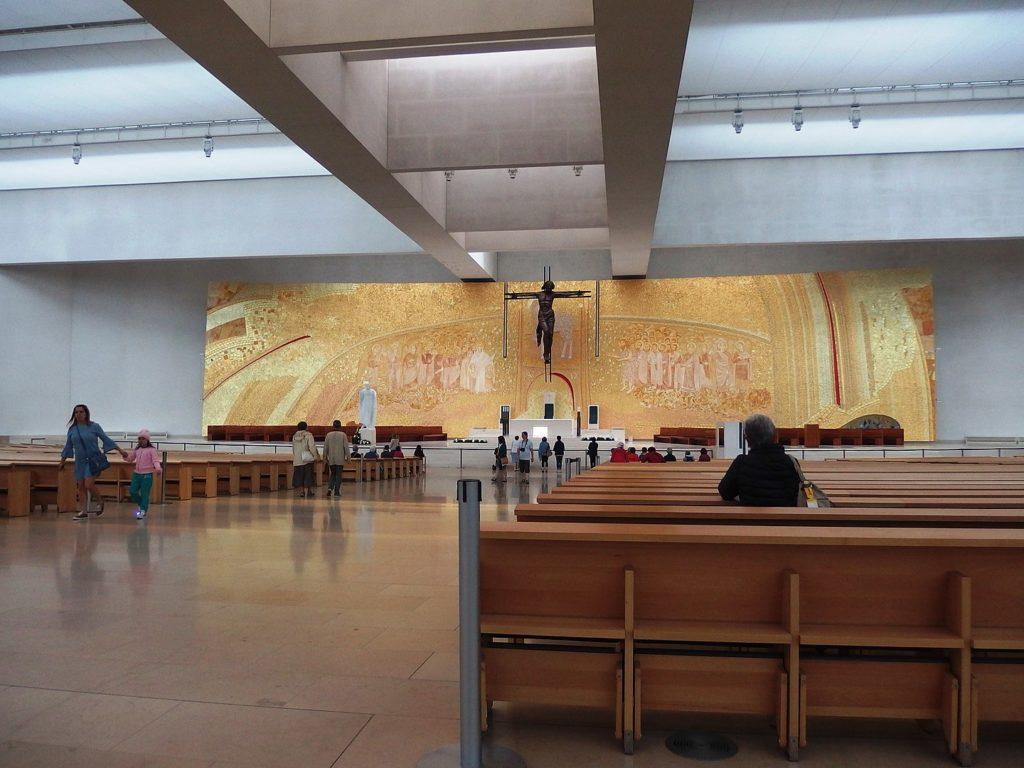 Церковь пресвятой троицы в фатиме