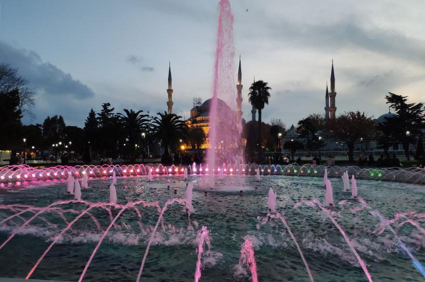 из Анталии в Стамбул